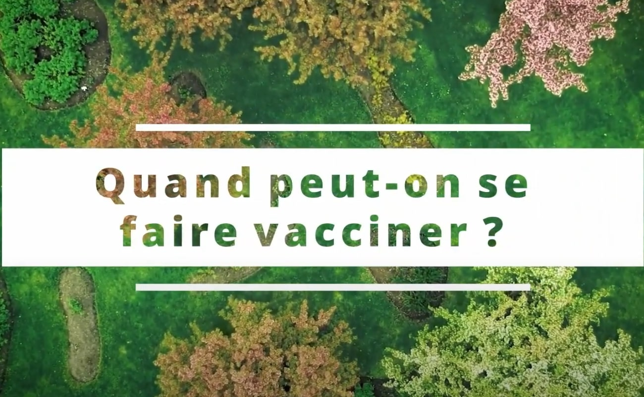 When Can You Get a Covid Vaccine? - French
