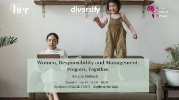Women, Responsibility and Management: Progress, Together.
