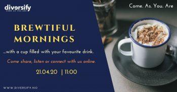 Brewtiful Mornings Diversify Facebook Post